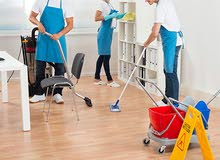 CLEANING SERVICE WITH AFFORDABLE RATES تنظيف عام