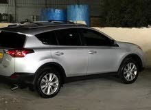 For sale 2014 Silver RAV 4