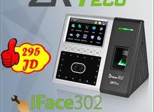 ساعة مراقبة الدوام ببصمة الوجه iFace302