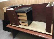 Office Cupboards and tables so sale. (Good Condition)