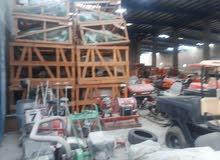 brand new machinery