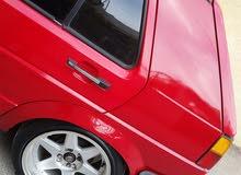 Volkswagen Golf 1989 For sale - Red color