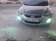 Automatic Silver Hyundai 2012 for rent