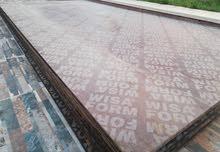 خشب ضد الماء(لوح كنتر) جديد 1.80X2.50م