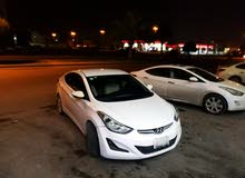 White Hyundai Elantra 2013 for sale