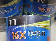 اقراص DVD-R 4.7GB 11×50 PCS