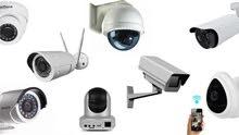 نصب وتركيب كاميرات المراقبة