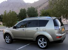 Mitsubishi Outlander 2008 For sale - Gold color