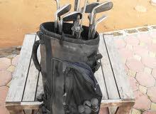 مستلزمات الغولف كامل مع شنطه فري