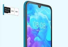 جهاز موبايل هواوي Y5 2019 32 GB مع ملحقاته وكرتونه الجهاز