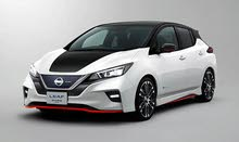 Silver Nissan Leaf 2019 for sale