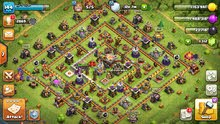 clash of clasn th11 مستعجل