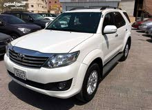 Toyota Fortuner car is available for a Month rent