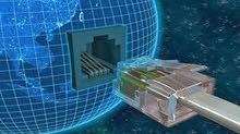 توريد وتركيب جميع اعمال الشبكات والسيرفرات واجهزة الحاسبات تاسيس شبكات