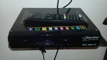 starsat sr-70000 HD +صحن+ دونقل شغال صلاحية سنة