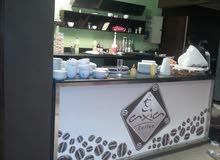 قهوة كافية شغالة شبرا الخيمة 200م وخارجي 150م ايجار15 الف