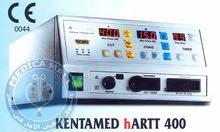 جهاز كي جراحي 400 وات عالى التردد مزود بأثنين ميكروبرسيسور  Electrosurgical Unit Bipolar Underwater