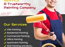 Painting Services in Dubai,Gypsum Partition and Carpentry @20% Discount (052-2322-165)