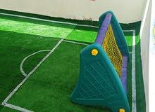 لعبة مرمى كرة القدم والسلة لأطفال الحضانات والروضات