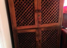 antique cupboard wooden