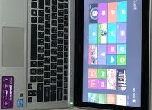 جهاز لابتوب سوني ڤايوultrabook شاشة باللمس للبيع كاش أو صك او نص بنص.