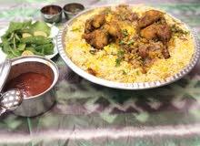 طباخ مأكولات عمانية و سعودية و خليجية و عربية