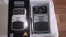 دعسه Delay \ Vintage delay للجيتار \ عود او لاي اله تعمل على الكهرباء (جديد)