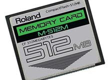 512MB Roland M-512M CompactFlash CF Memory Card Upgrade for SPD-S, SP-404, SP...