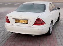 Mercedes Benz S 320 car for sale 2002 in Al Sharqiya city