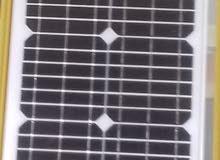 لوح شمسي 20w مع كنترول
