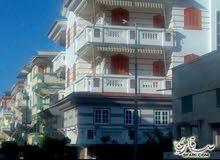 شقة بحري بقرية راس البر زمان