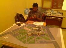 صناعة المجسمات الهندسية والمعمارية