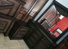 غرفة نوم ماستر مفصلةتفصيل من أجود أنواع خشب لاتيه قشرة بلوط شبه جديد الله يبارك
