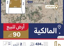 أرض سكنية في حي الحسن تقع في موقع مميز