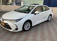 تويوتا كرولا الجديد كليآ وكاله عمان وضمان وكاله سياره شبه زيرو كيلو متر