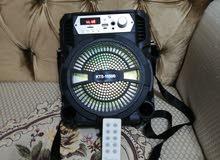 سبيكر بلوتوث كبيير صوت عالي مع جهاز تحكم