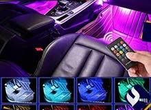 إضاءات ديسكو تفاعلية داخلية للسيارات