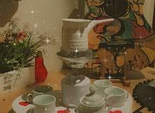 صينية القهوة المتكاملة والأنيقة