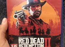 لعبة ريد ديد 2 (RED DEAD REDEMPTION 2 ) نظيفة للبيع