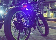 دراجه كهربائيه نوع Rich Bit بيعه مستعجله سعر خيالي جدا
