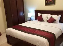 للايجار بعجمان شقق فندقية مفروشه غرفه وصاله غرفتين وصالة