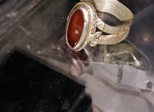 خاتم قديم بحجر سليماني