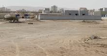 ارض سكنيةً ولاية الدقم مخطط 55 مساحة كبيره جدا
