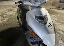 دراجه سازوكي ياباني محرك 125cc سرعه 100