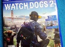 Watch dogs 2 ps4 للبيع