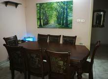 غرفة سفرة طاولة و ثمانية كراسي