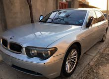 Used condition BMW 745 2005 with +200,000 km mileage