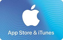 gift card  itunes50$