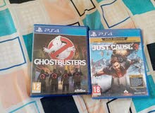 Ps4 just cause 3 and Ghostbusters for sell