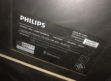 تلفزيون فيليبس مستعمل 65انش